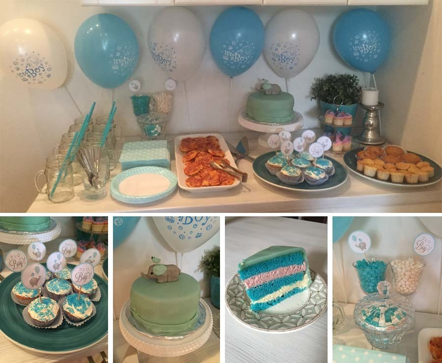 Min baby shower mamma elle for Baby dekoration